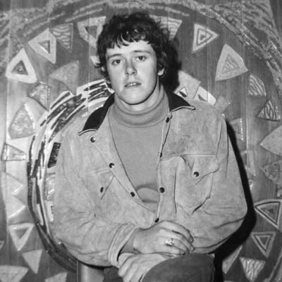 Donovan photographed in the Pavilion Ballroom