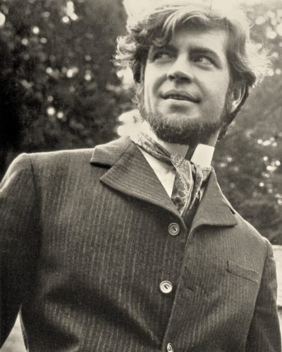 Alan Bates at Bloxworth on the set of Far From the Madding Crowd