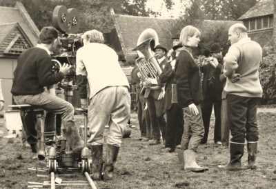 John Schlesinger directs the final scene in the 1967 movie Far From the Madding Crowd.
