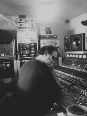 Paul mixing the Green Isaac album 2015
